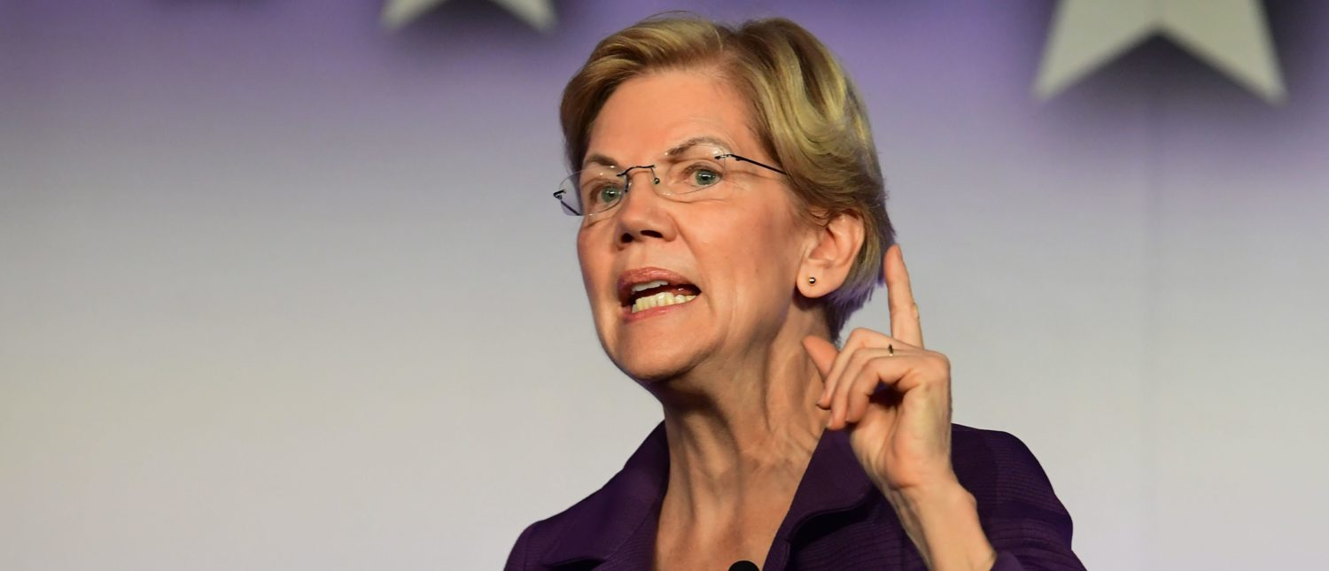 Elizabeth Warren Threatens To Cut Off Aid To Israel