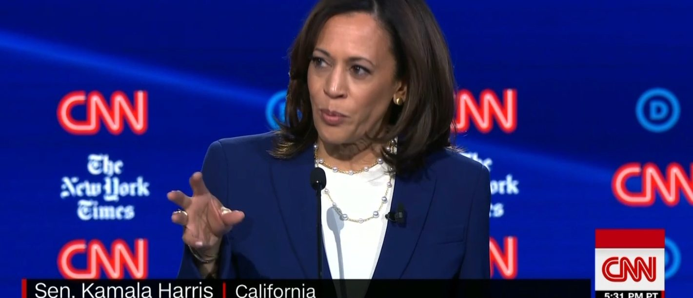 Kamala Harris Calls Out Dems For Ignoring Abortion On Debate Stage