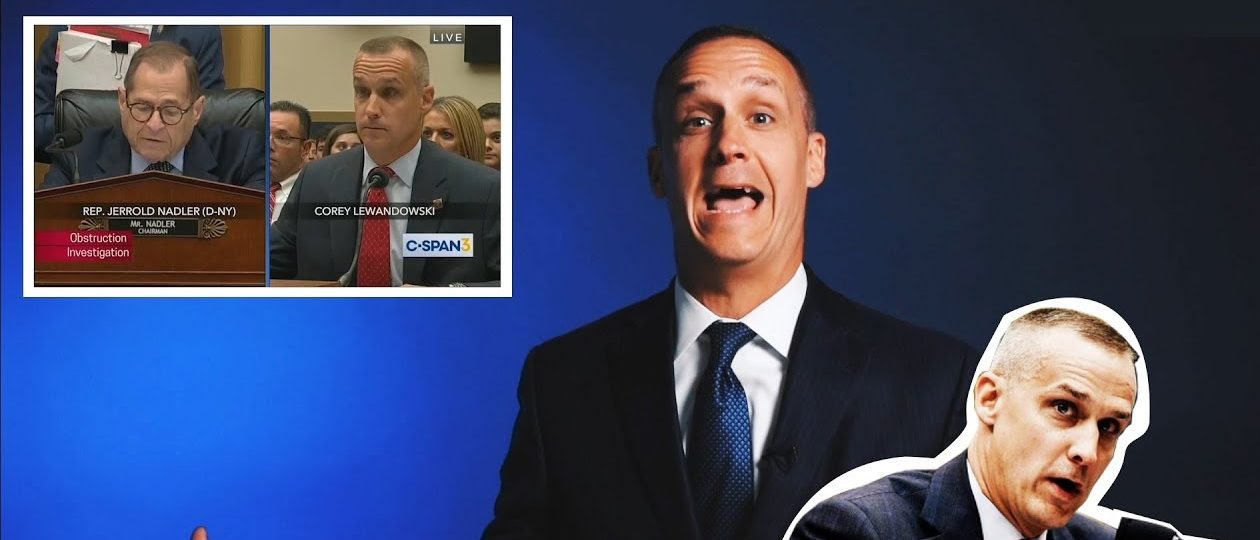 Corey Lewandowski's House Hearing Is Hall Of Fame Material - So We Had Him Come In And Relive The Greatest Moments