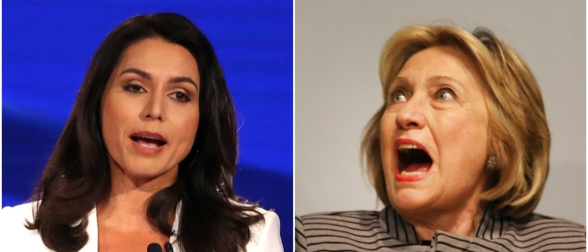'Personification Of The Rot' — Tulsi Gabbard Pulls The Flamethrower On Hillary Clinton For Calling Her A Russian Agent