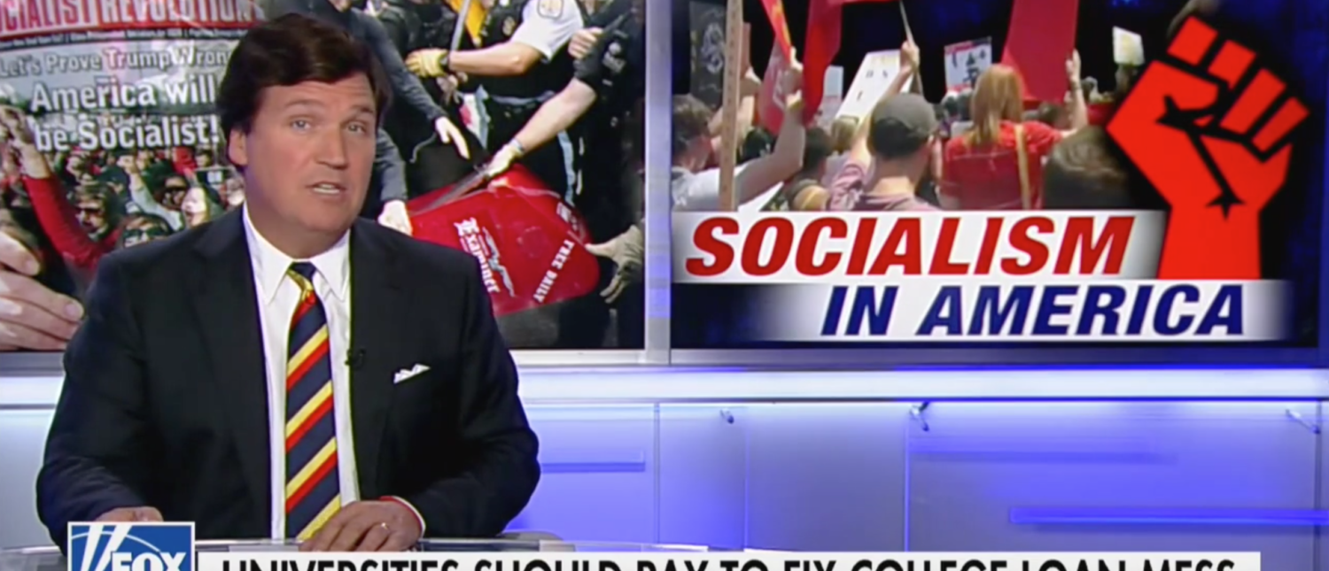 Tucker Floats Student Loan Plan That Will Have 'Smirking College Presidents' Shaking In Their Boots