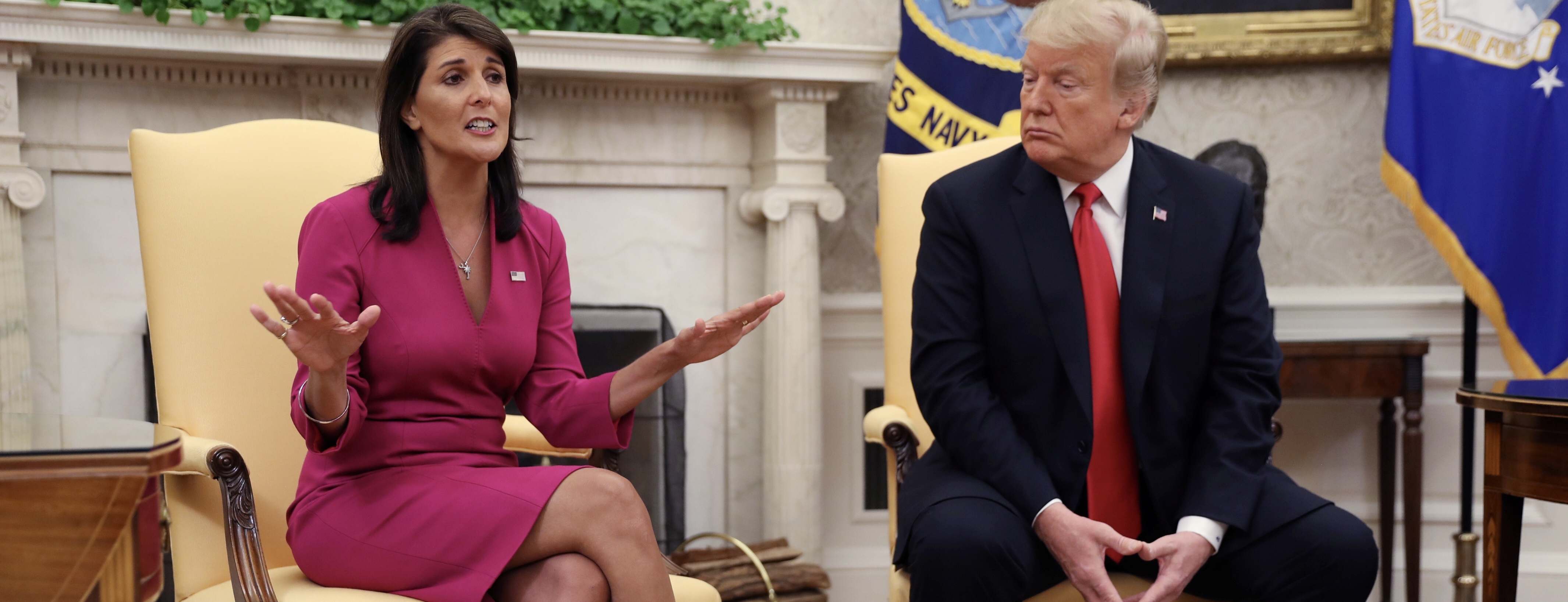 Nikki Haley Billed As 2024 GOP 'Frontrunner' By Dallas County Republican Party