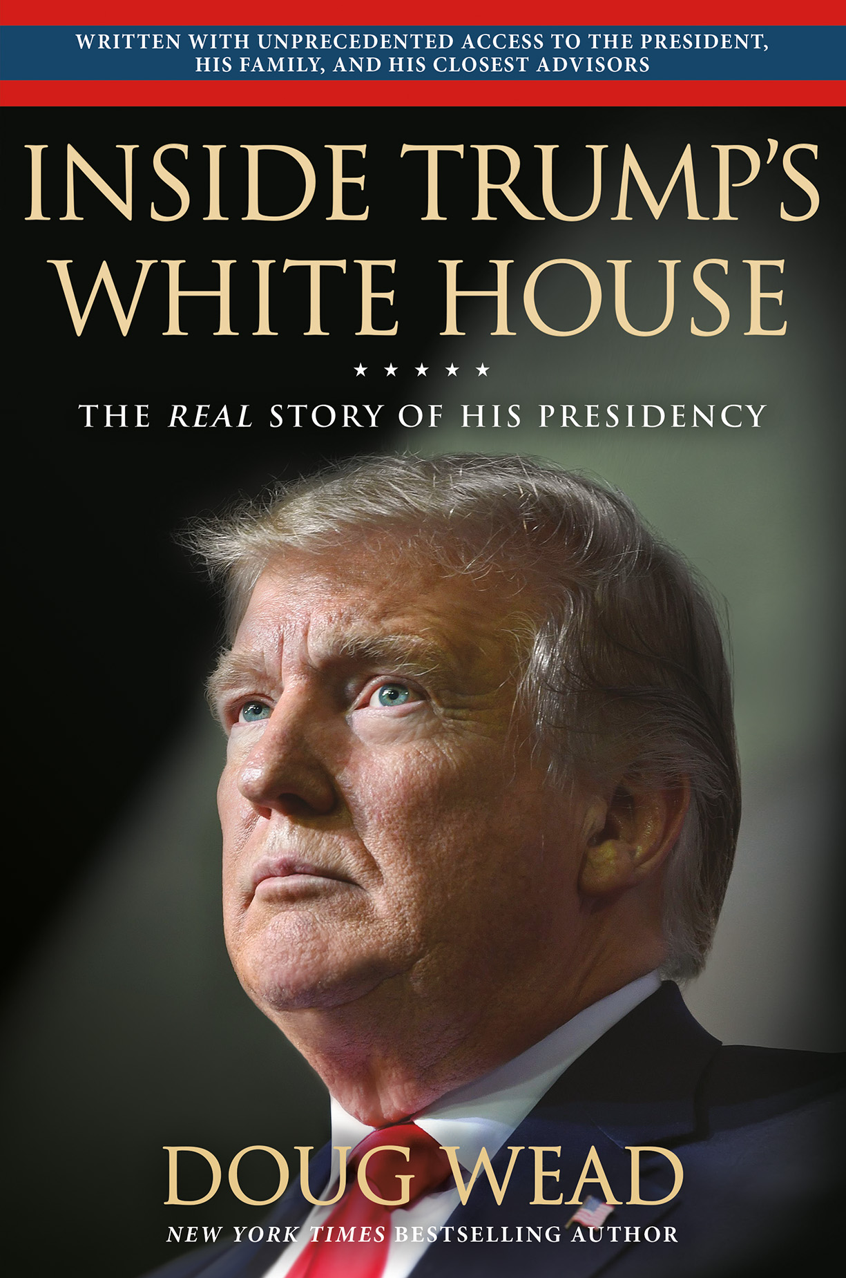 Historian Doug Wead's book launched later in November and includes exclusive interviews with Trump, his family and senior staffers. (Photo courtesy of Hachette Book Group)