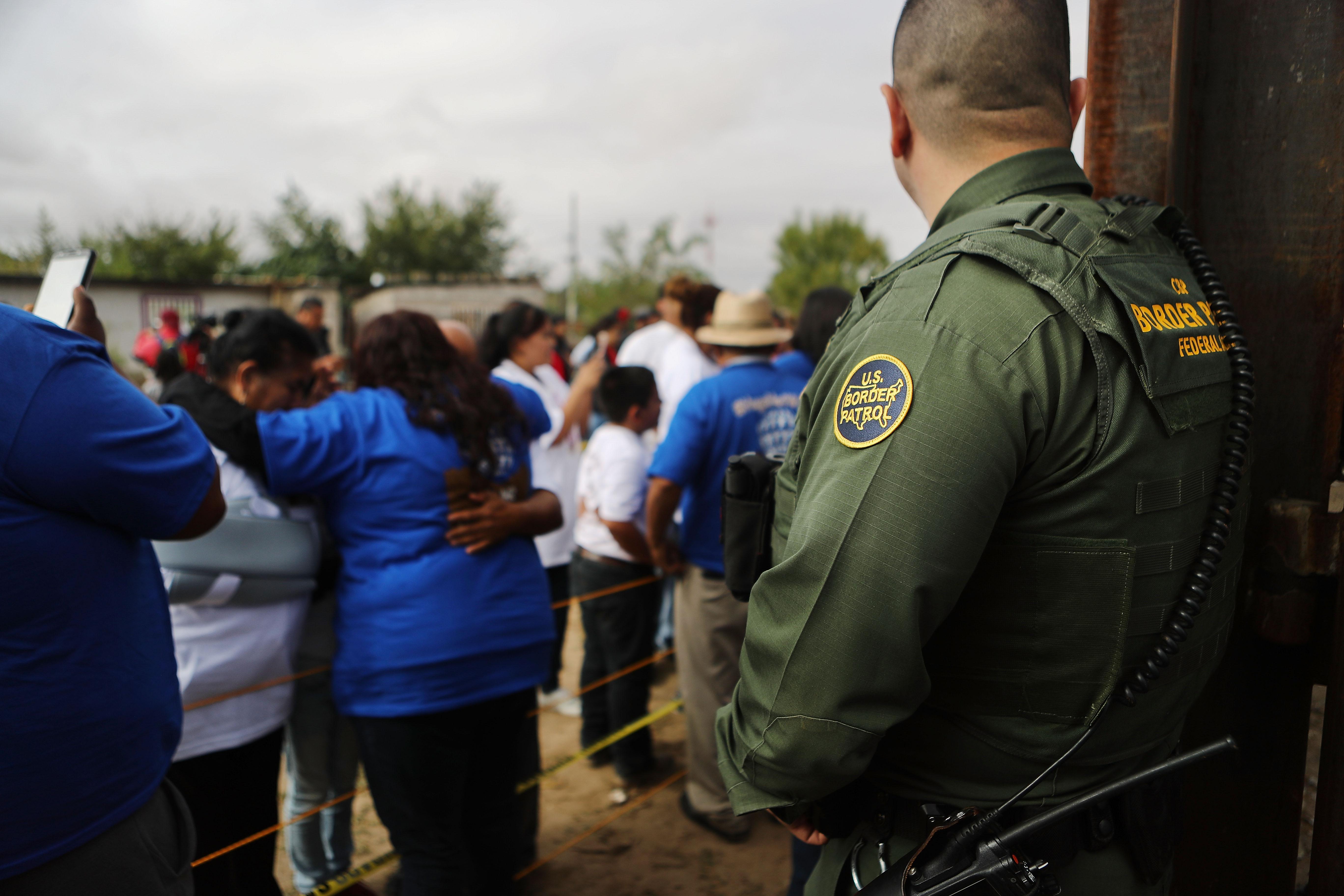 Hugs Not Walls Event Briefly Reunites Families At US-Mexico Border Wall