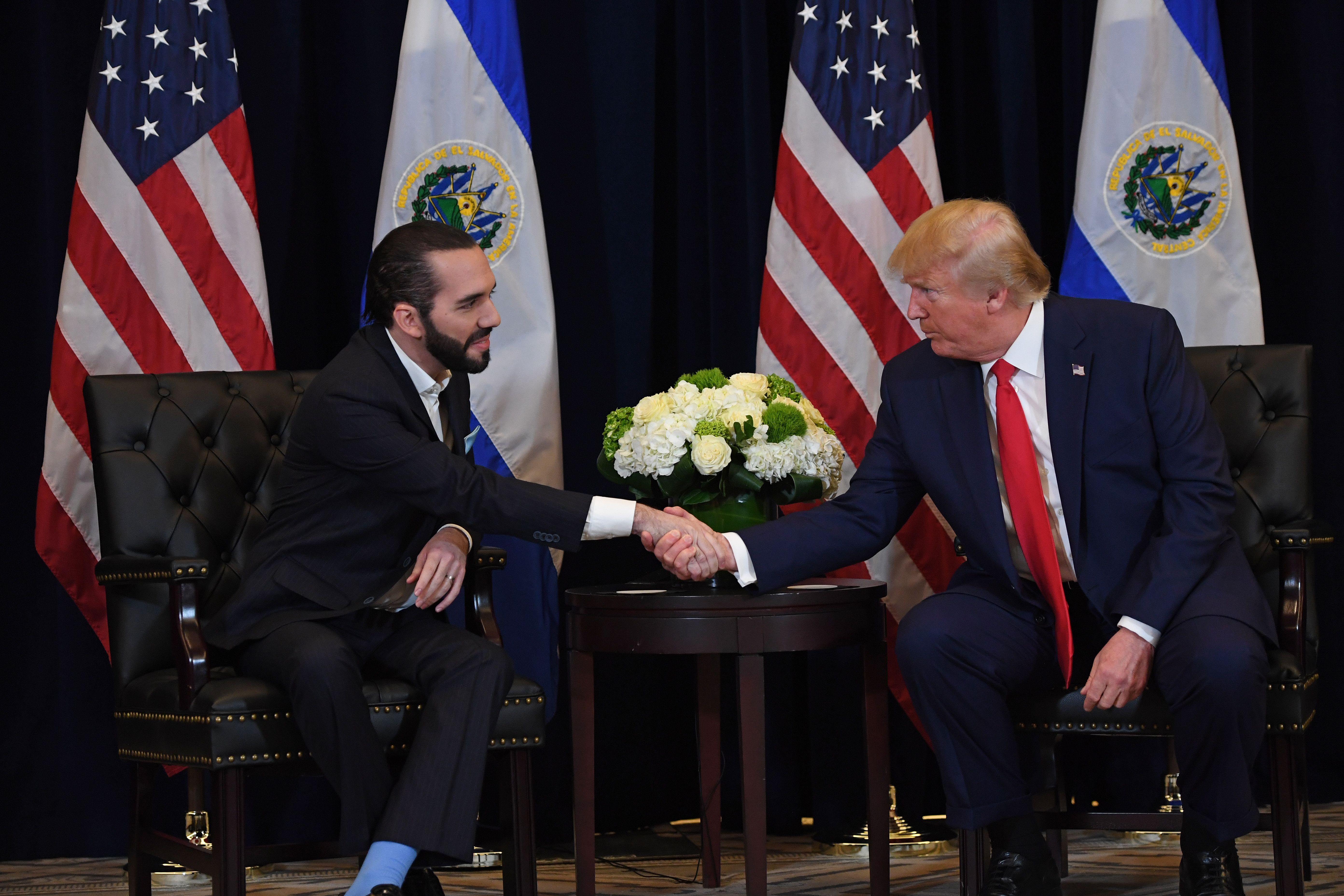US-EL SALVADOR-GENERAL ASSEMBLY-POLITICS-DIPLOMACY