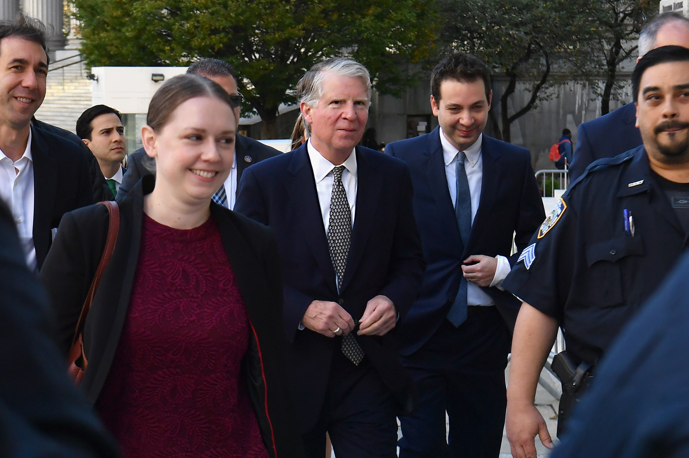Manhattan District Attorney Cyrus Vance Jr. arrives for a federal court hearing in New York City on October 23, 2019. (Angela Weiss/AFP/Getty Images)