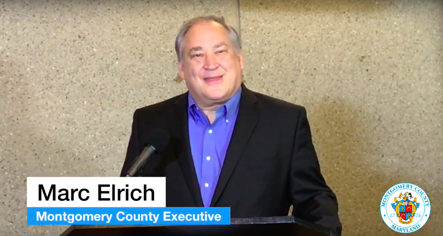 Marc Elrich. Screen grab