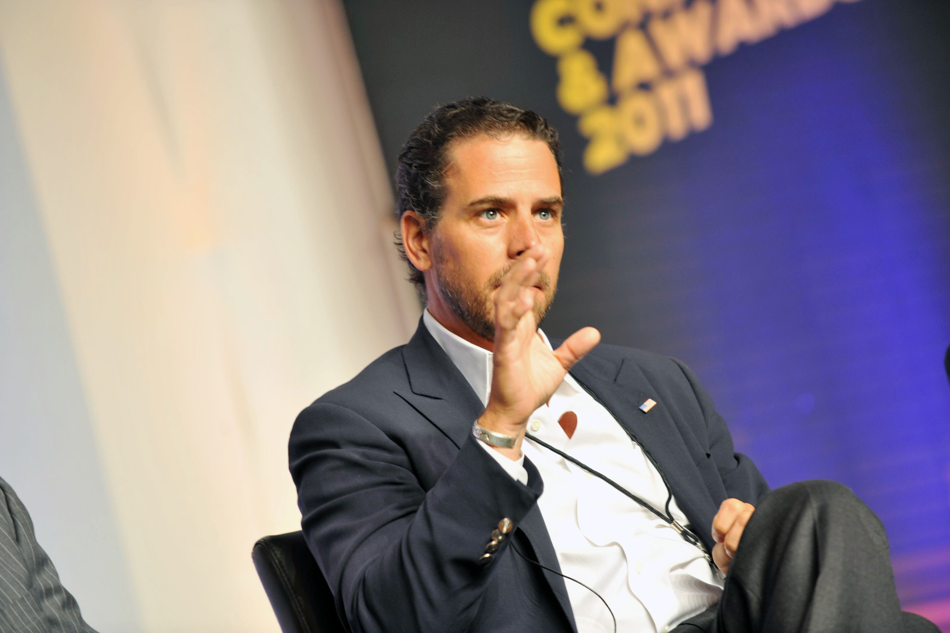 ATLANTA, GA - JULY 22: Hunter Biden attends Usher's New Look Foundation - World Leadership Conference & Awards 2011 - Day 3 at Cobb Energy Center on July 22, 2011 in Atlanta, Georgia. (Photo by Moses Robinson/Getty Images for Usher's New Look Foundation)