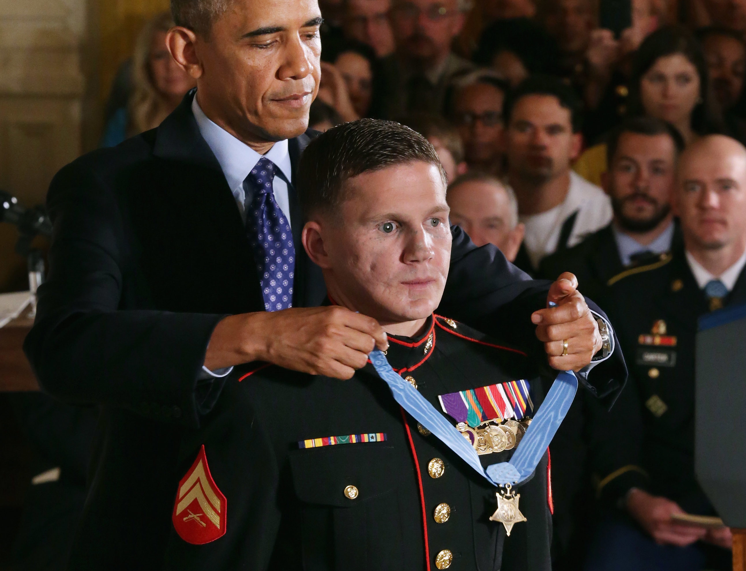 How Medal Of Honor Recipient Kyle Carpenter Recovered From Jumping On A Grenade