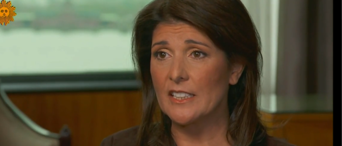 Nikki Haley Blasts Impeachment: �I Don�t Know What You Would Impeach Him On�