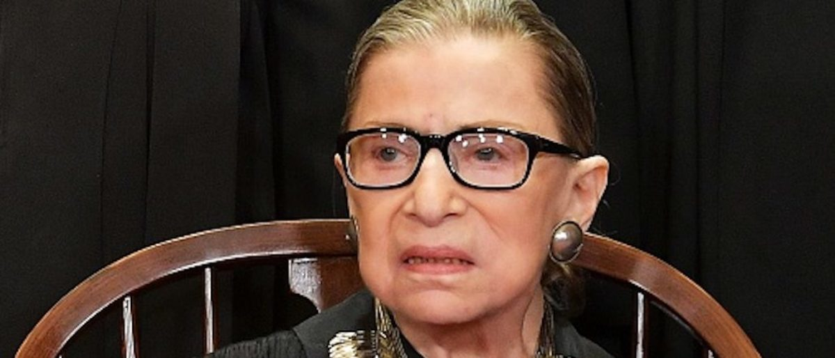 Ruth Bader Ginsburg Hospitalized | The Daily Caller