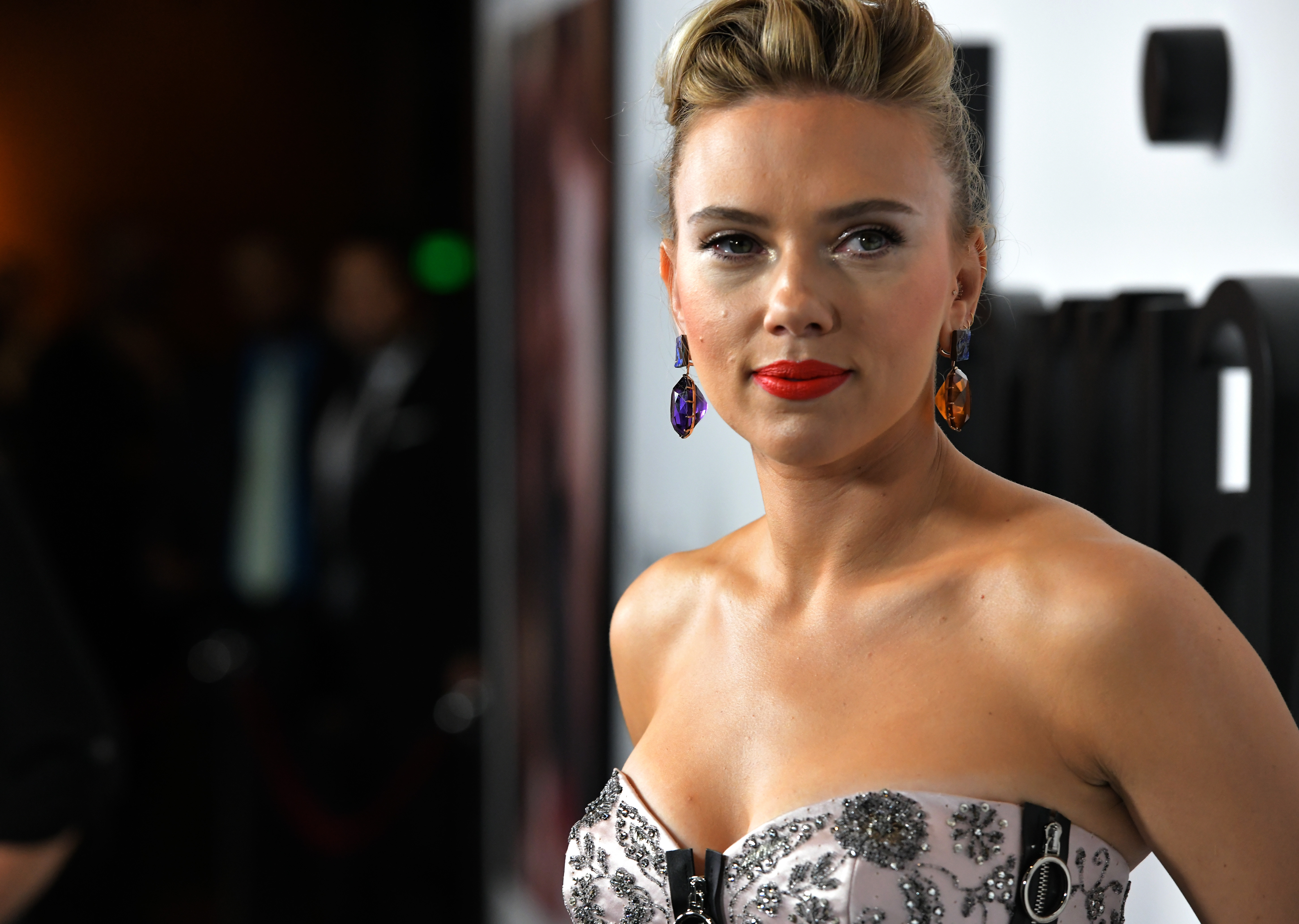 Scarlett Johansson attends the 'Marriage Story' Los Angeles Premiere at the Directors Guild on November 05, 2019 in Los Angeles, California. (Photo by Charley Gallay/Getty Images for Netflix)