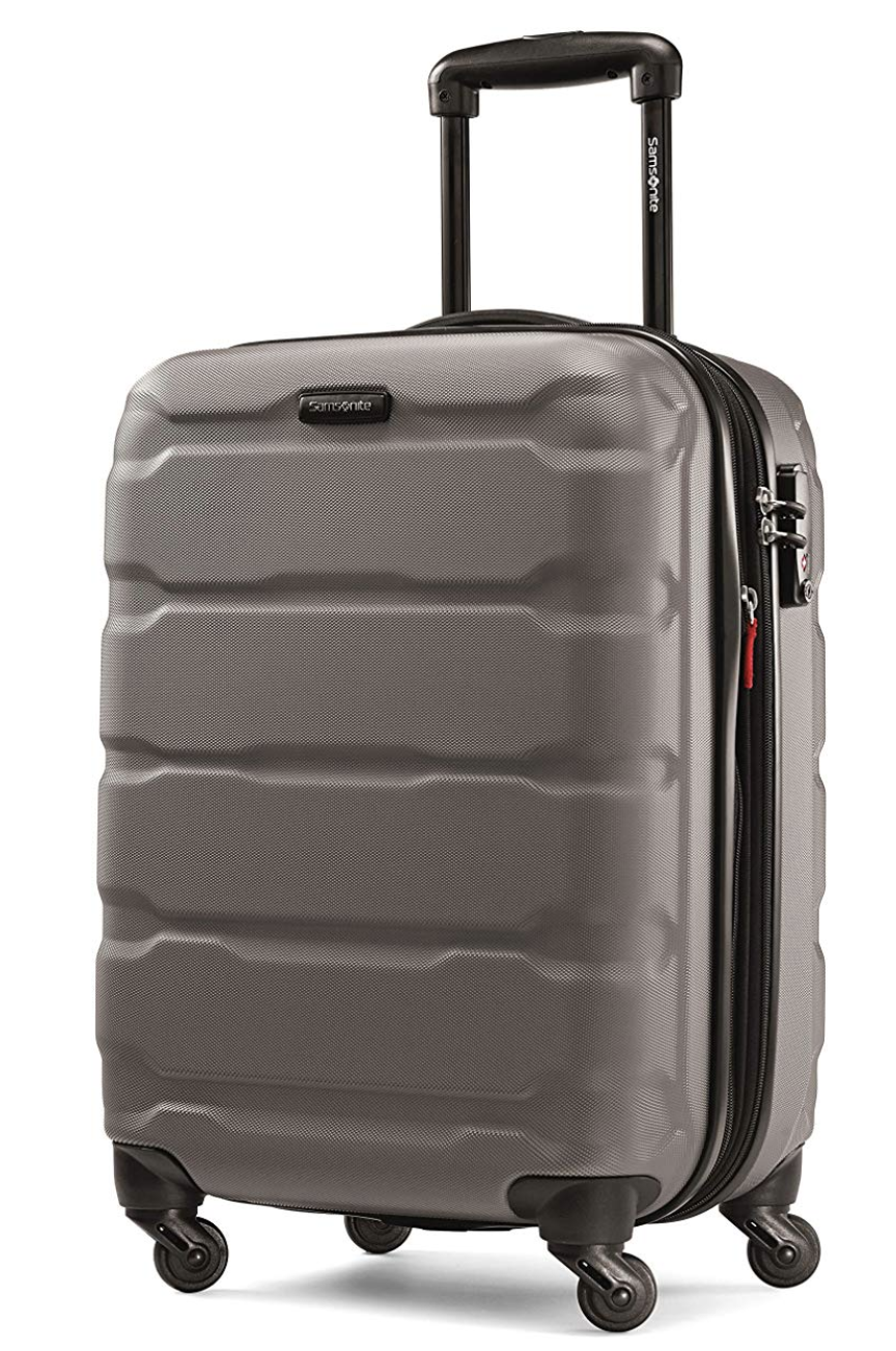 Samsonite luggage with spinner wheels is your best investment of the year! Photo via Amazon