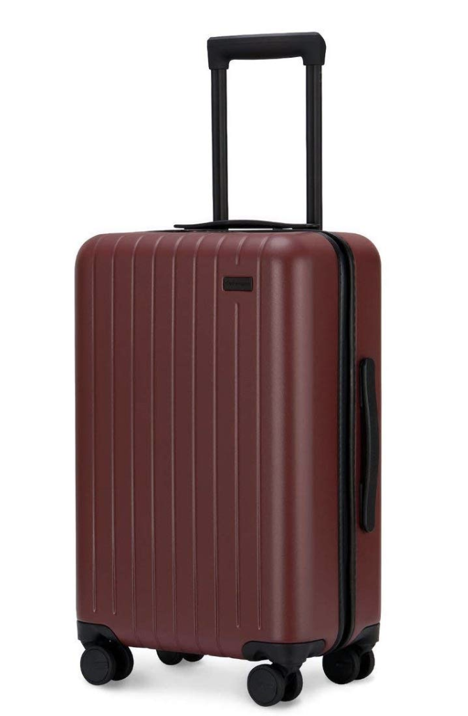 Classic goPenguin Carry-on luggage with spinner wheels will delight your vocation. Photo via Amazon