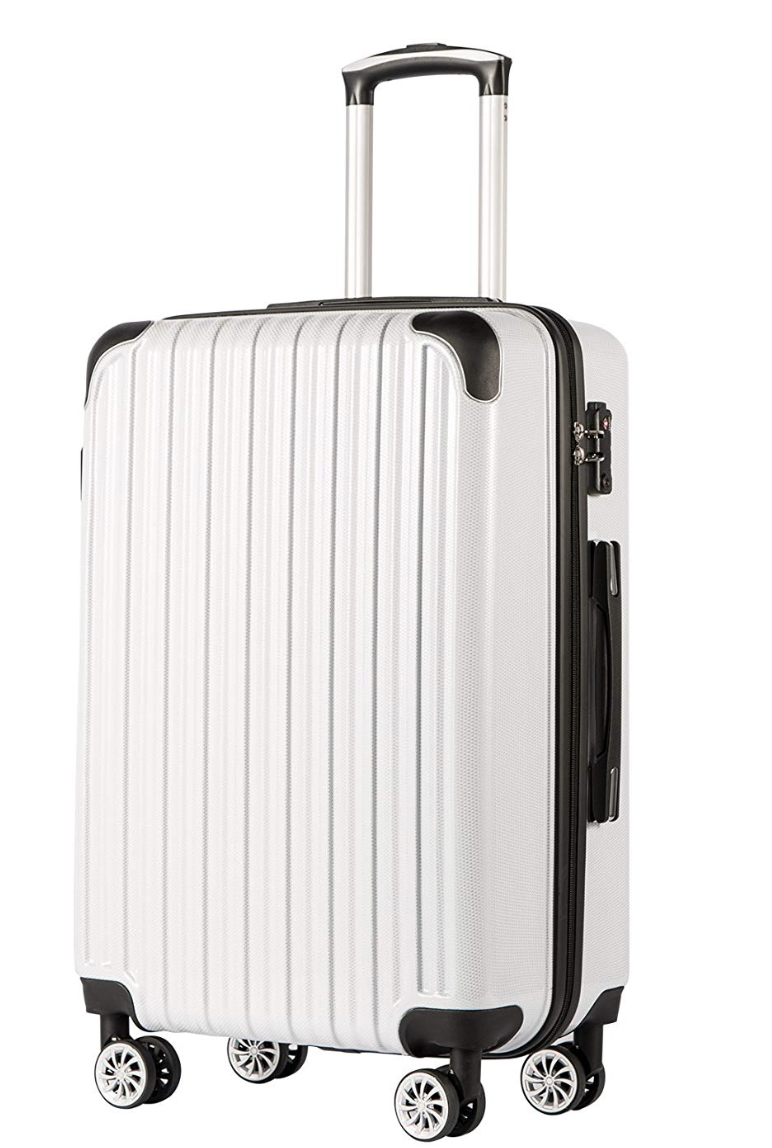 Coollife luggage expandable suitcase makes your life the coolest! Photo via Amazon