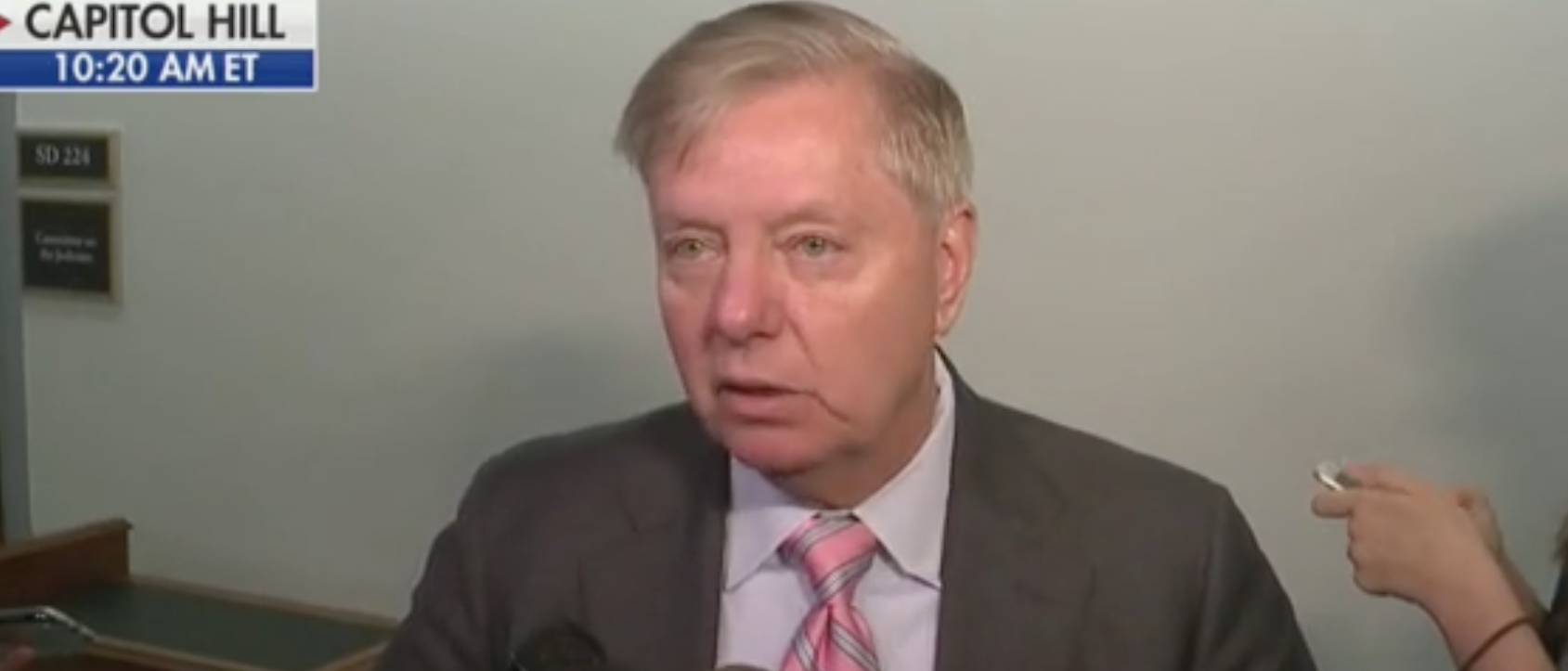 Lindsey Graham Explains Why He's Not Playing Along With Impeachment Process