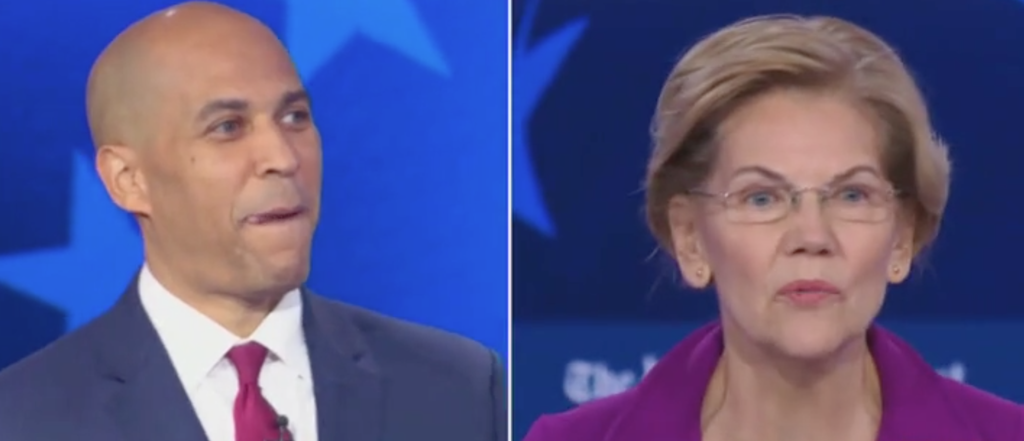 Booker And Warren Go Toe-To-Toe In Heated Exchange Over Wealth Tax