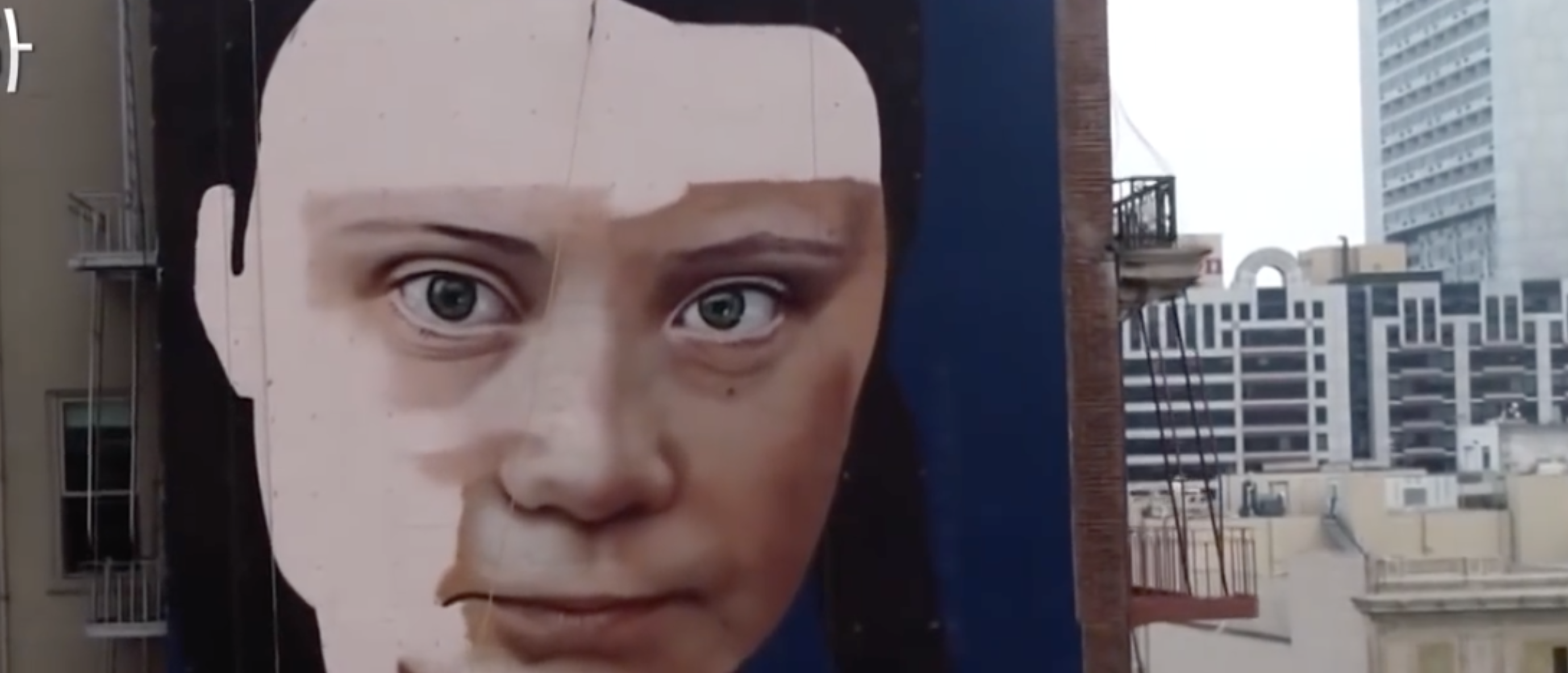 Here's How San Francisco's Greta Thunberg Mural Impacts The Environment