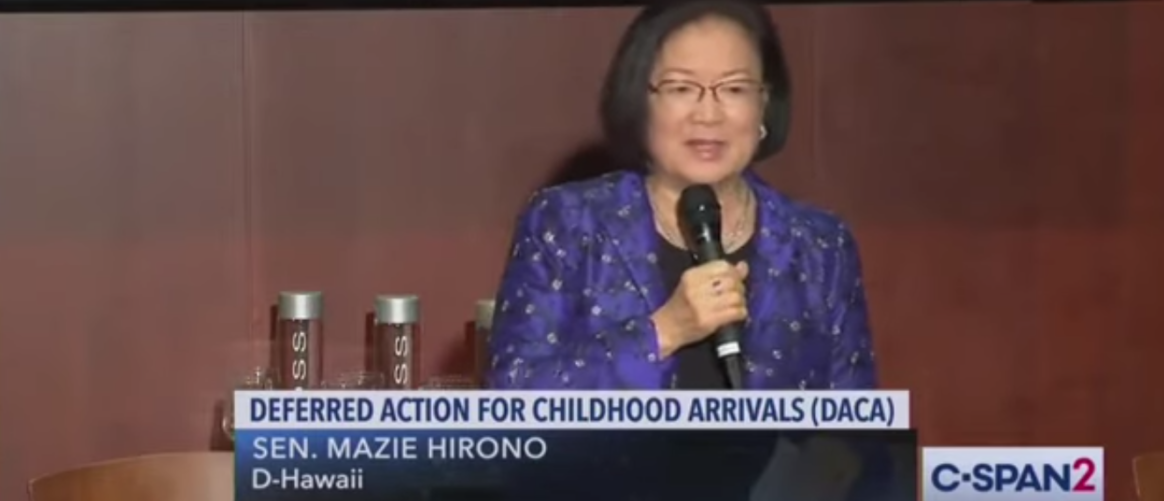 Mazie Hirono Says 'Believe In Climate Change As Though It's A Religion — It's Not, It's Science'