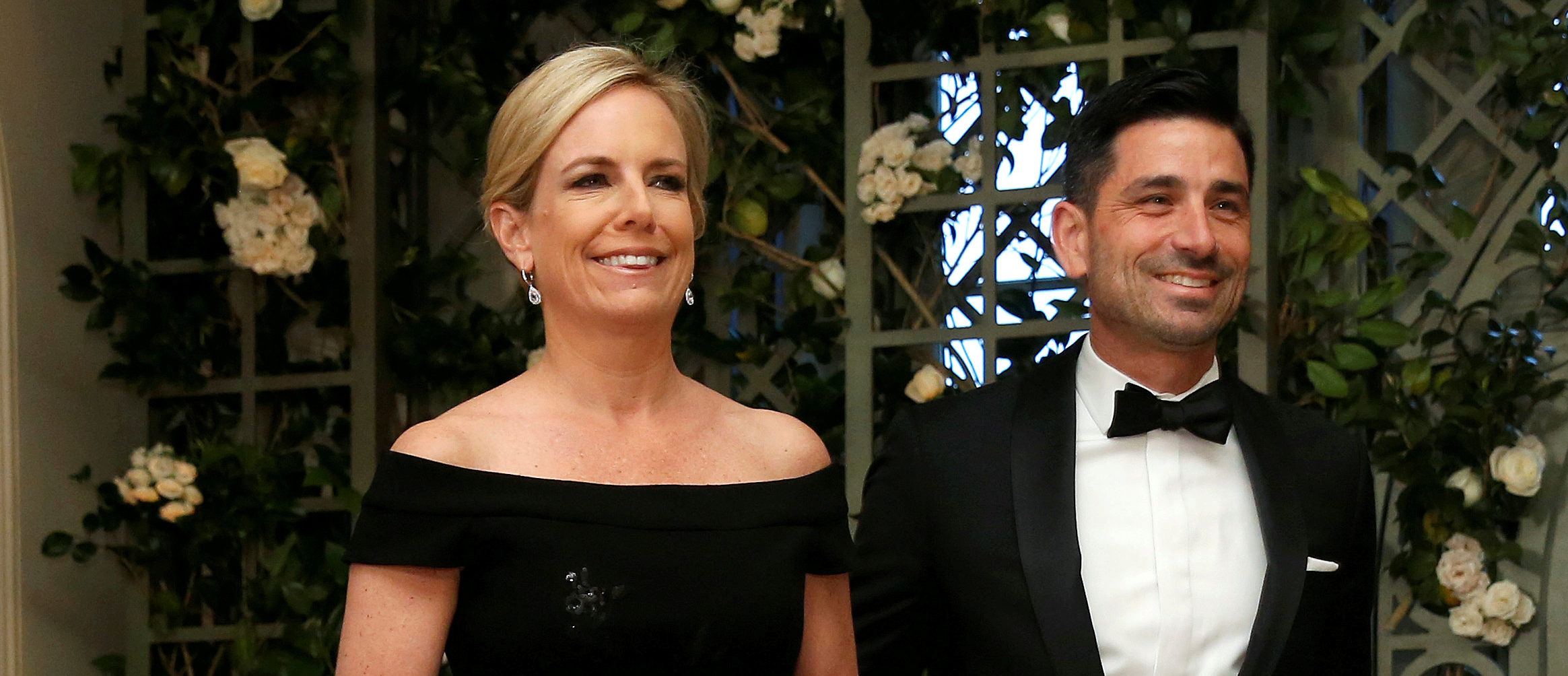 FILE PHOTO: U.S. Secretary of Homeland Security Kirstjen Nielsen and Chad Wolf arrive for the State Dinner in honor of French President Emmanuel Macron at the White House in Washington