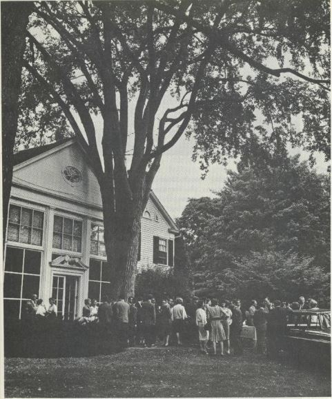 The founding of Young Americans for Freedom, Sharon, Connecticut. YAF.