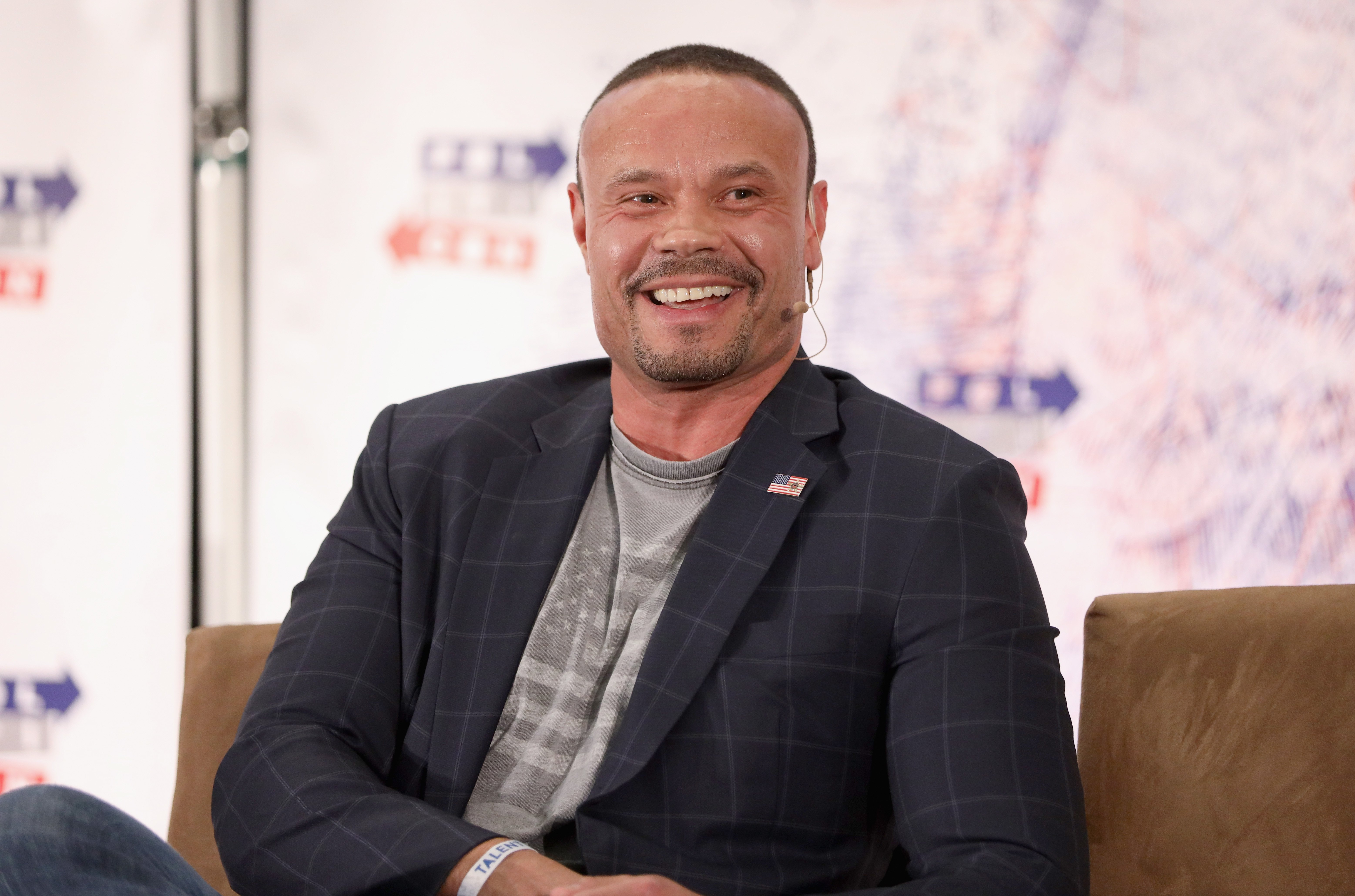 Dan Bongino speaks onstage during Politicon 2018 at Los Angeles Convention Center on October 20, 2018 in Los Angeles, California. (Rich Polk/Getty Images for Politicon)