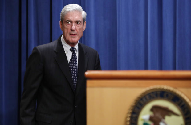 WASHINGTON, DC - MAY 29: Special Counsel Robert Mueller arrives to make a statement about the Russia investigation on May 29, 2019 at the Justice Department in Washington, DC. Mueller said that he is stepping down as special counsel and that the report he gave to the attorney general is his last words on the subject. (Photo by Chip Somodevilla/Getty Images)