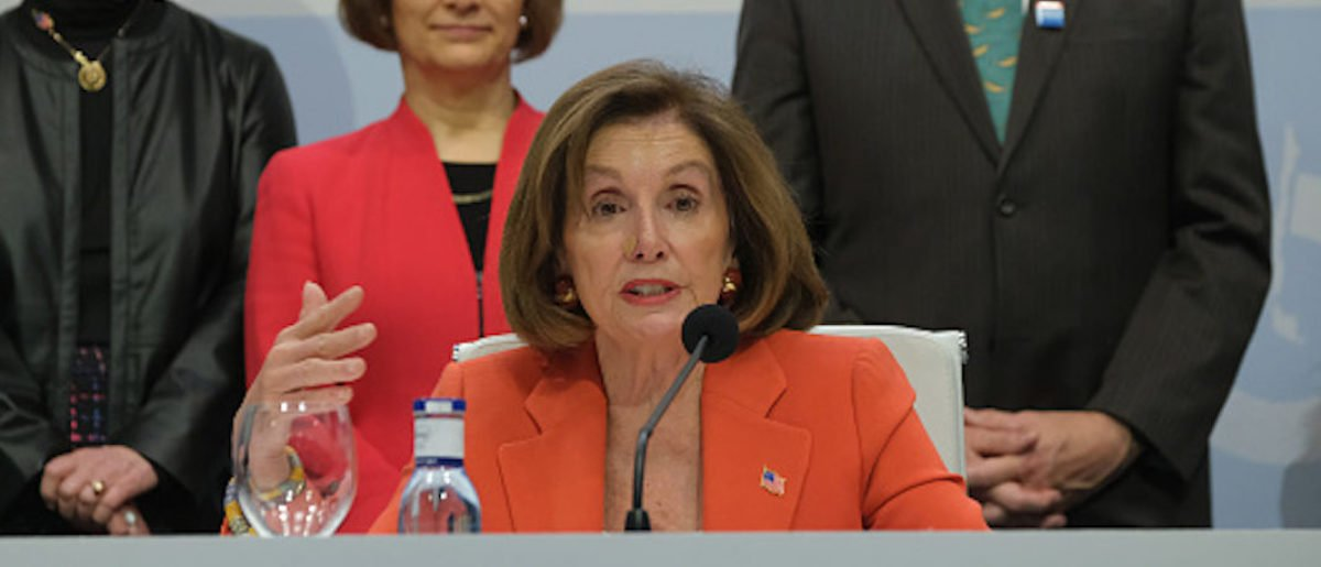 'We Don't Talk About The President In A Negative Way': Pelosi Talks Impeachment While Abroad In Spain