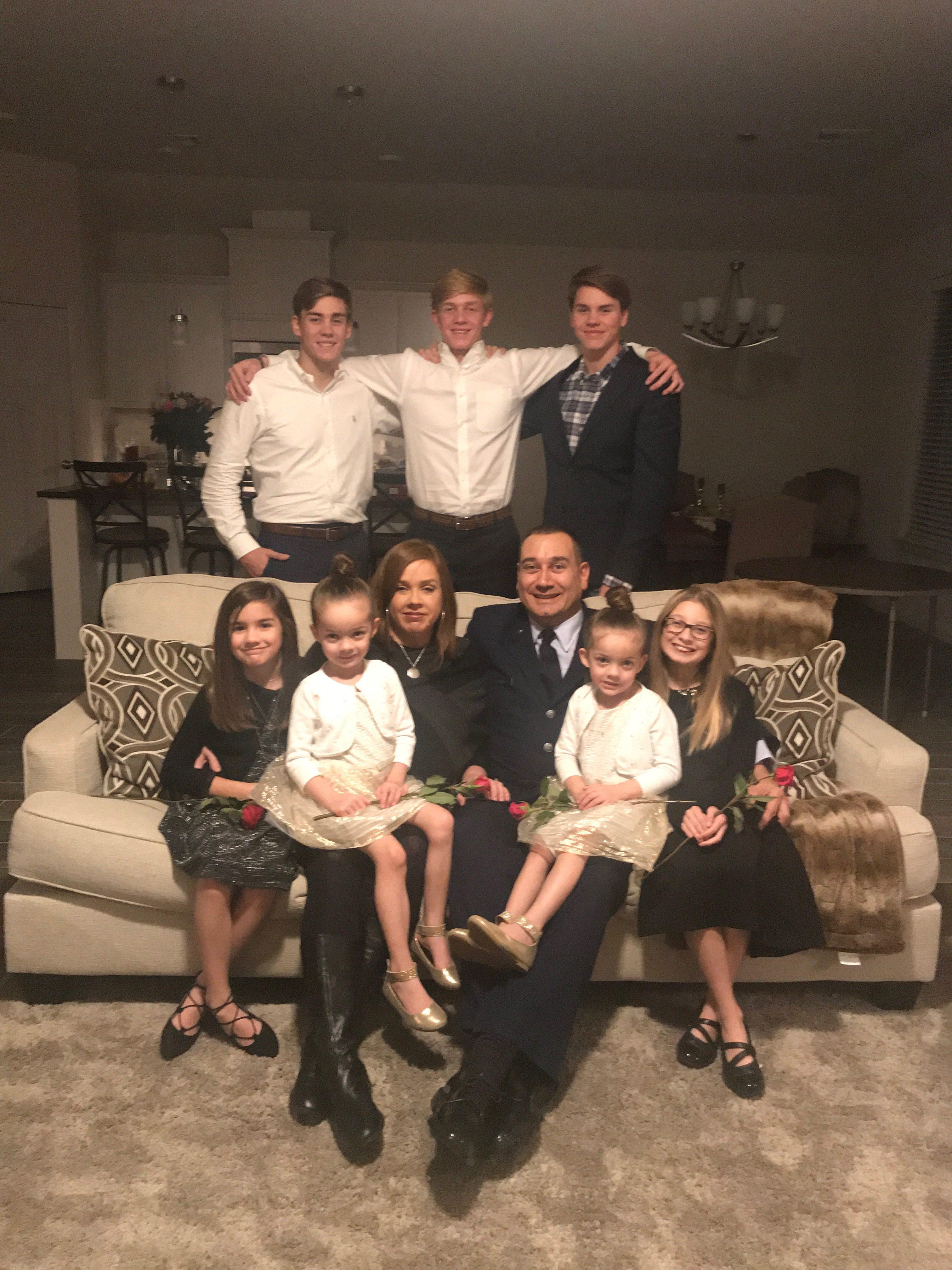 Photo of Janna Driver's family.