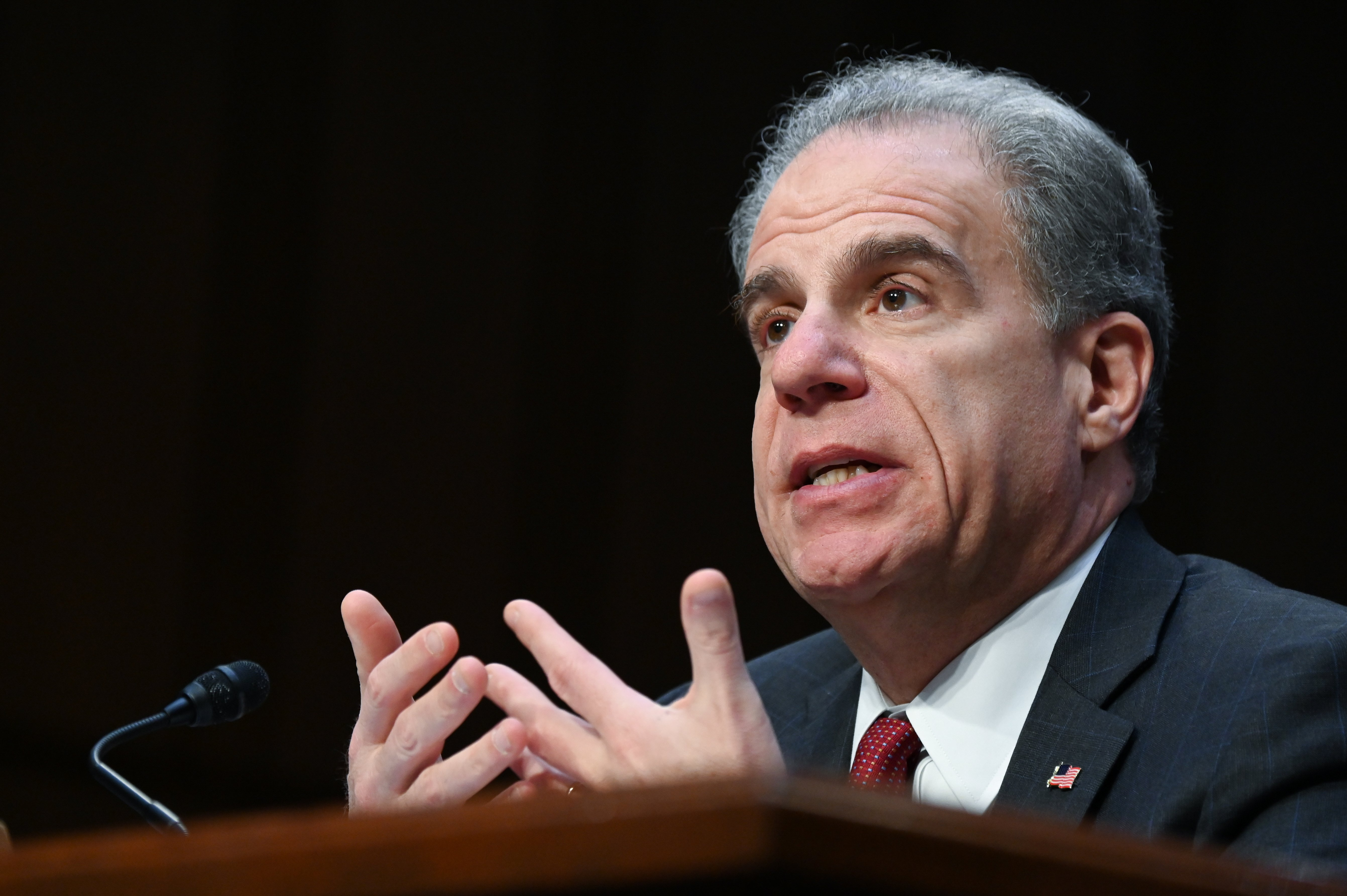 "U.S. Justice Department Inspector General Michael Horowitz testifies before a Senate Judiciary Committee hearing ""Examining the Inspector General's report on alleged abuses of the Foreign Intelligence Surveillance Act (FISA)"" on Capitol Hill in Washington, U.S., December 11, 2019. REUTERS/Erin Scott - RC29TD9701DY"