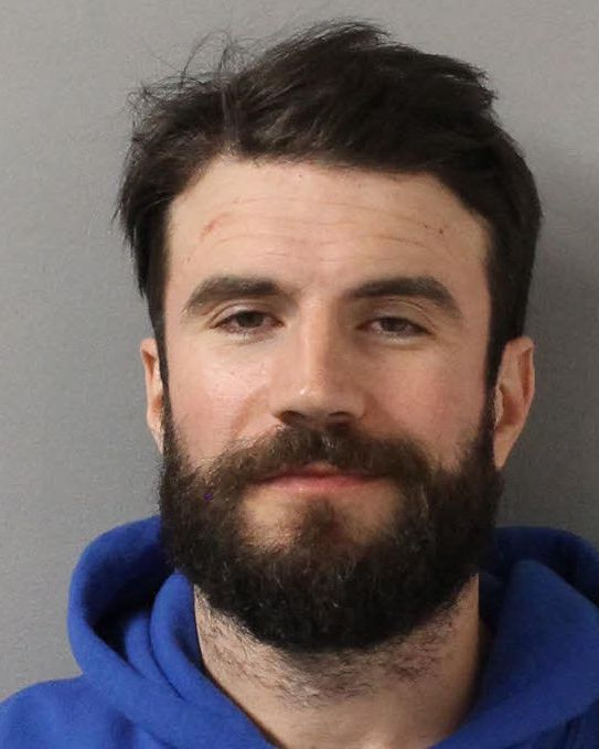 In this handout provided by the Davidson County Sheriff, country singer Sam Hunt poses for a mugshot image after being arrested on DUI charges November 21, 2019 in Nashville, Tennessee. (Photo by Davidson County Sheriff via Getty Images)