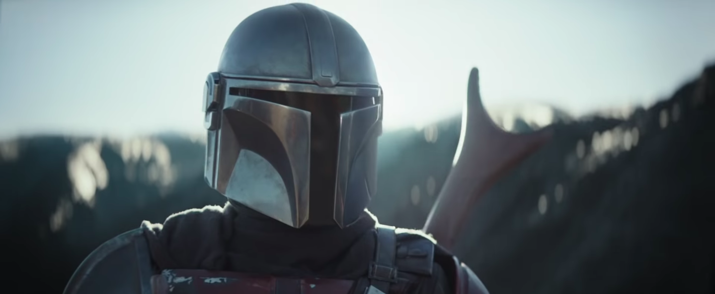 Mando appears in the trailer of