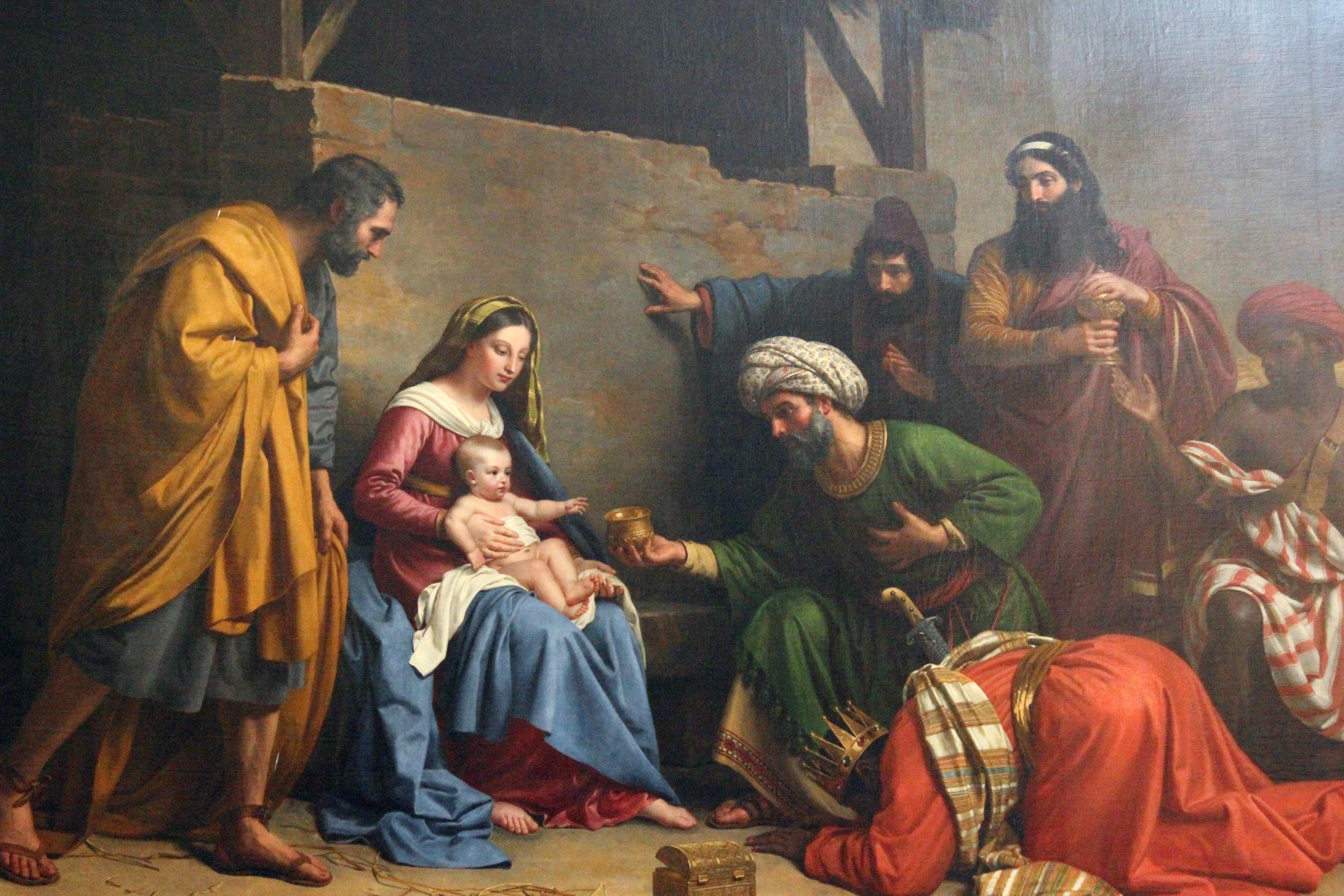 The first Christmas. Zvonimir Atletic, Shutterstock