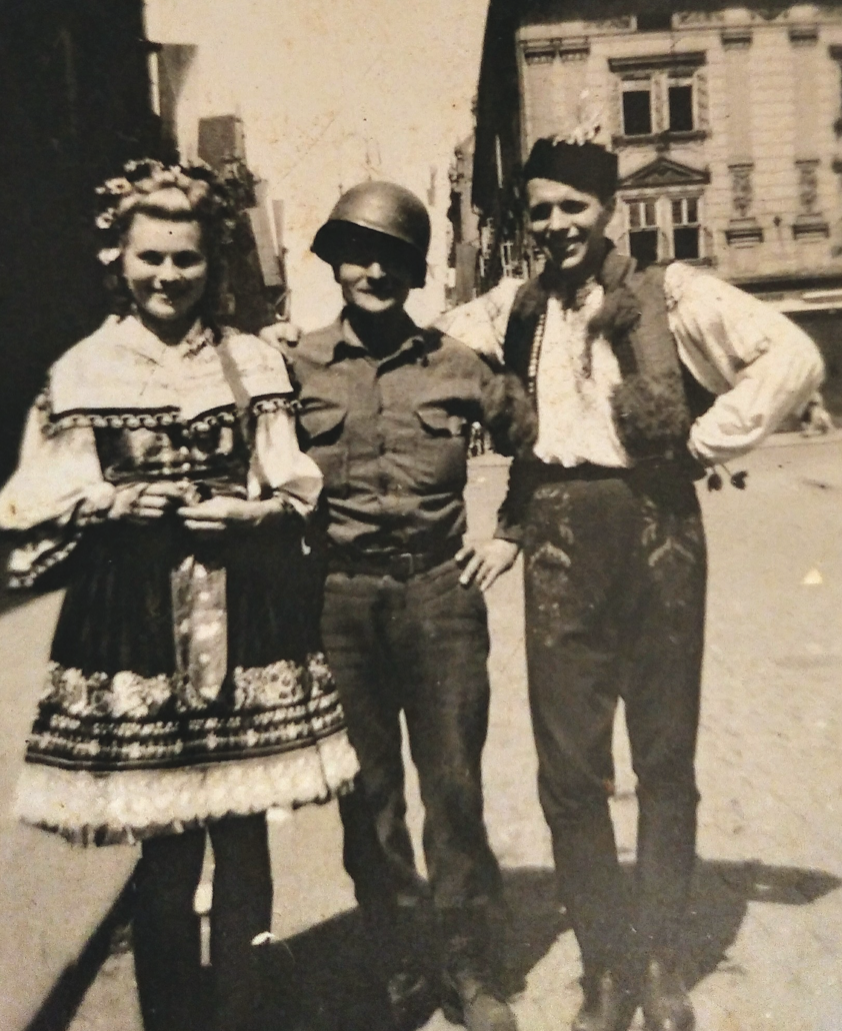 SSG William Franklin Greenplate enjoys R&R with locals in the Netherlands, 1945. Virginia Kruta/The Daily Caller
