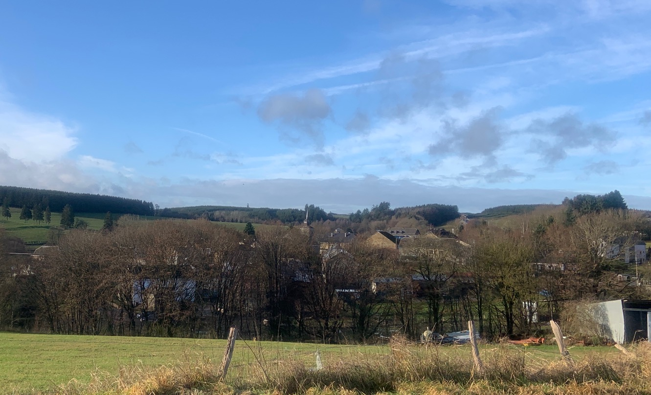 The village of Longvilly, Belgium, as seen from the road. Virginia Kruta/The Daily Caller