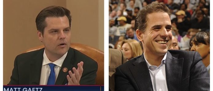 Matt Gaetz's Dramatic Reading About Hunter's 'Crack Pipe' Prompts Dem Rep To Bring Up Gaetz's DUI