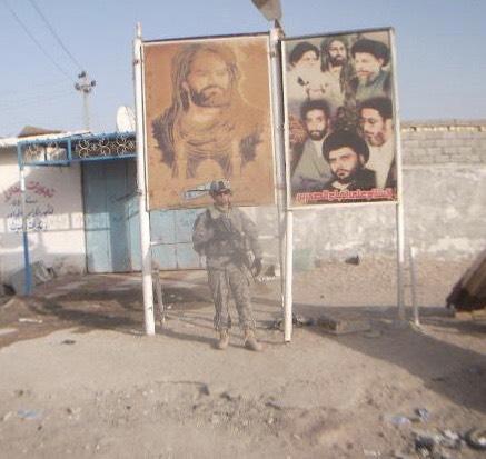Fmr 1st Cavaly Division Platoon Leader Gabe Scott in Iraq (Gabe Scott)