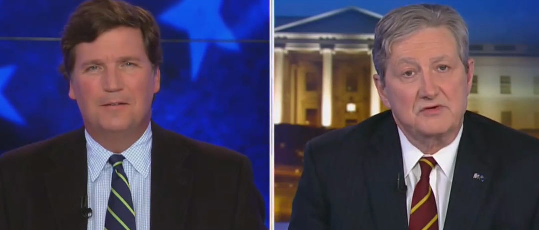 Here's What Senator Kennedy Said To Get Tucker Carlson 'Excited' About Impeachment Trial