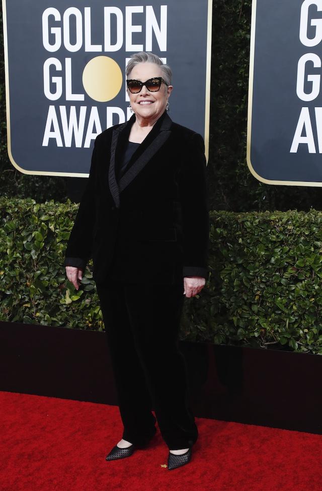 77th Golden Globe Awards - Arrivals - Beverly Hills, California, U.S., January 5, 2020 - Kathy Bates. REUTERS/Mario Anzuoni