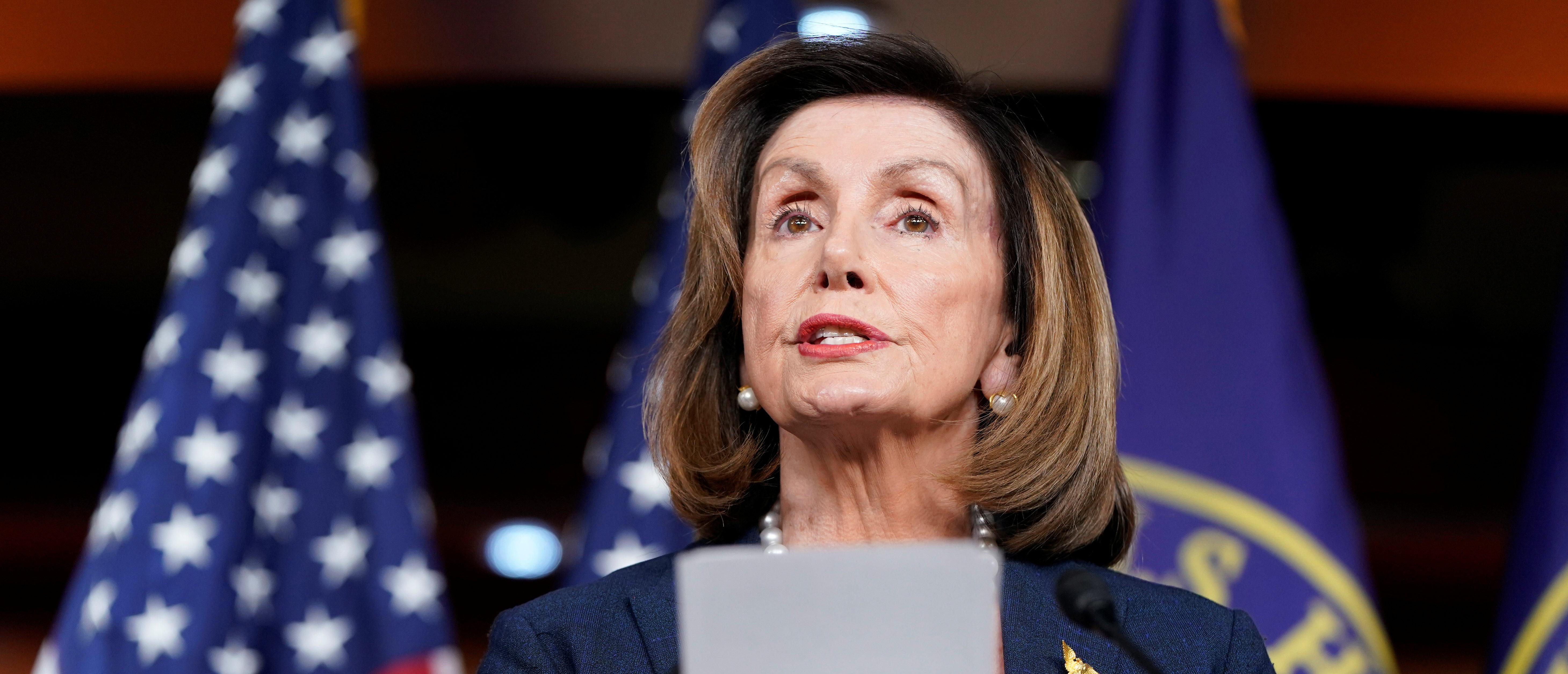 Nancy Pelosi Says House Democrats Will Vote To Block Trump's Travel Ban