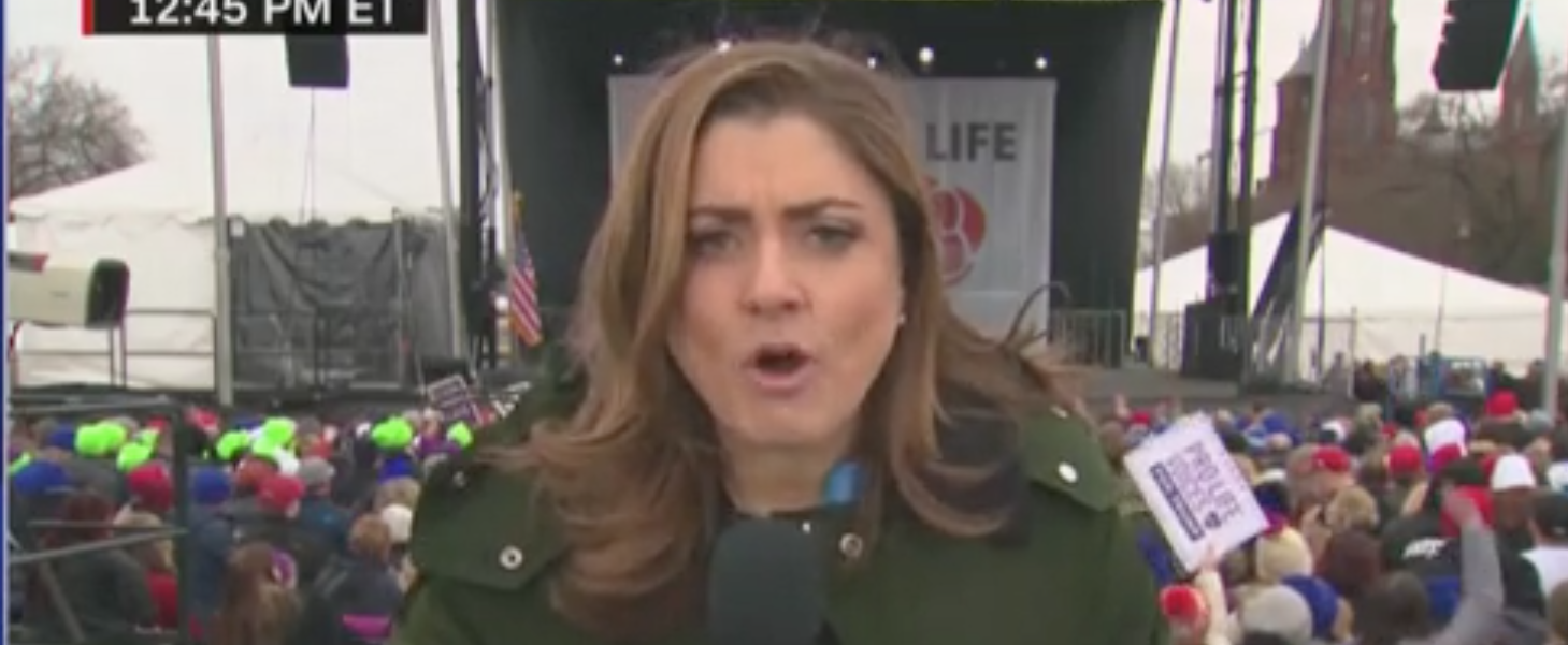 CNN Reporter Accuses Trump Of 'Damage Control' After He Speaks At March For Life