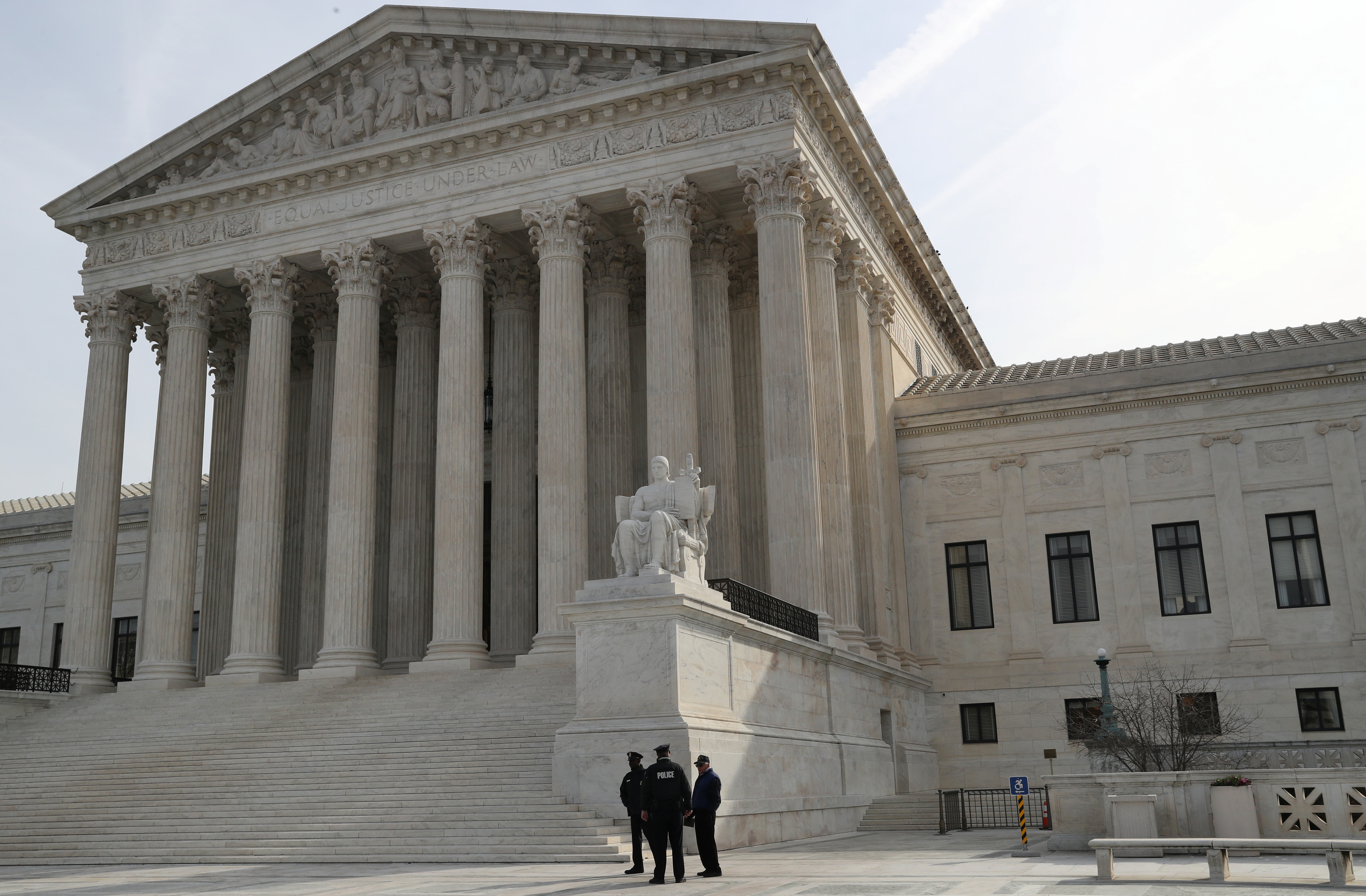 The Supreme Court as seen on March 20, 2019. (Reuters/Leah Millis)