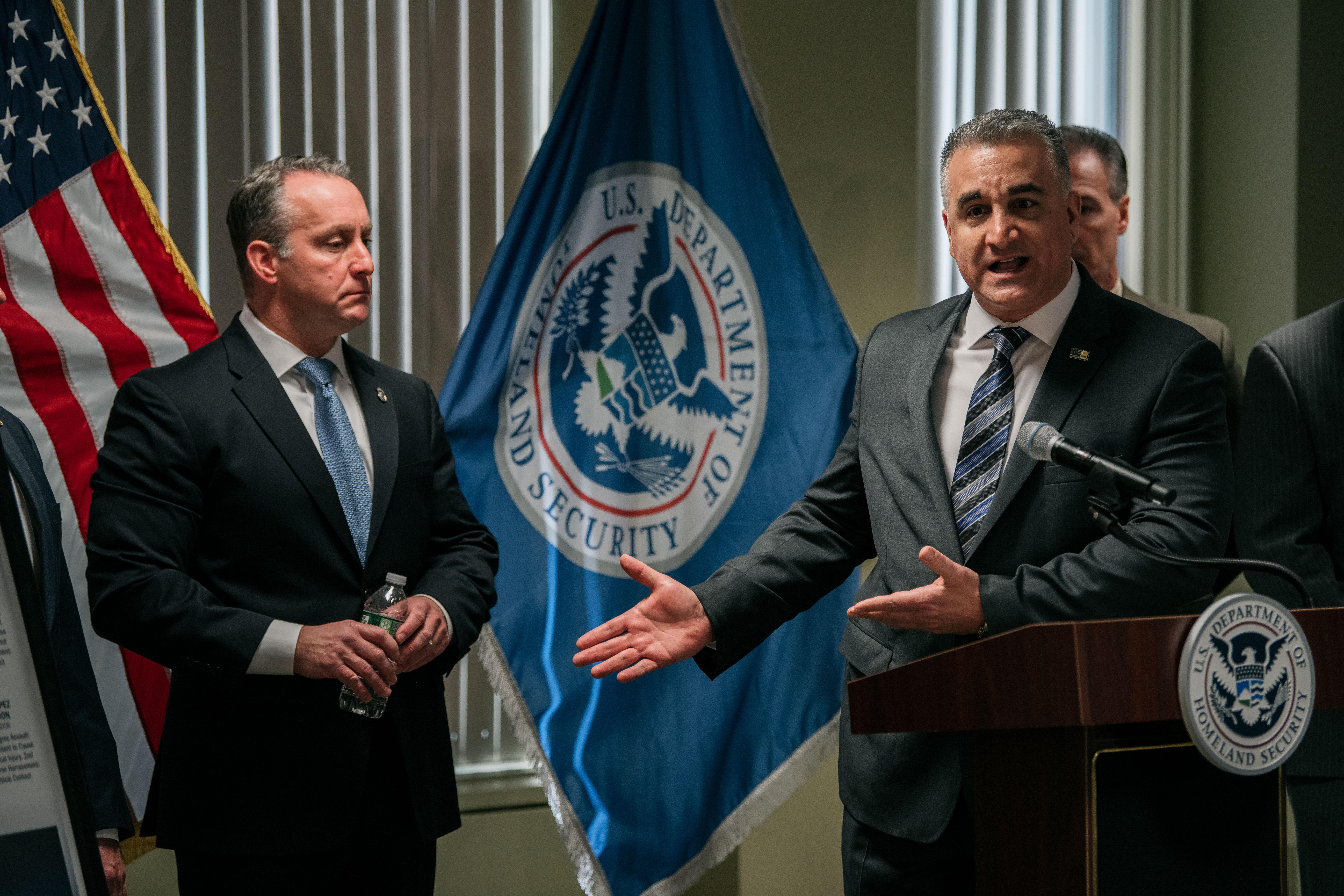 Immigration And Customs Enforcement Acting Director Matthew Albence Speak On Sanctuary Policies