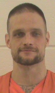 Brandon Kirby is presently in police custody in Oklahoma. (OK Dept. of Corrections/OKOffender.gov)