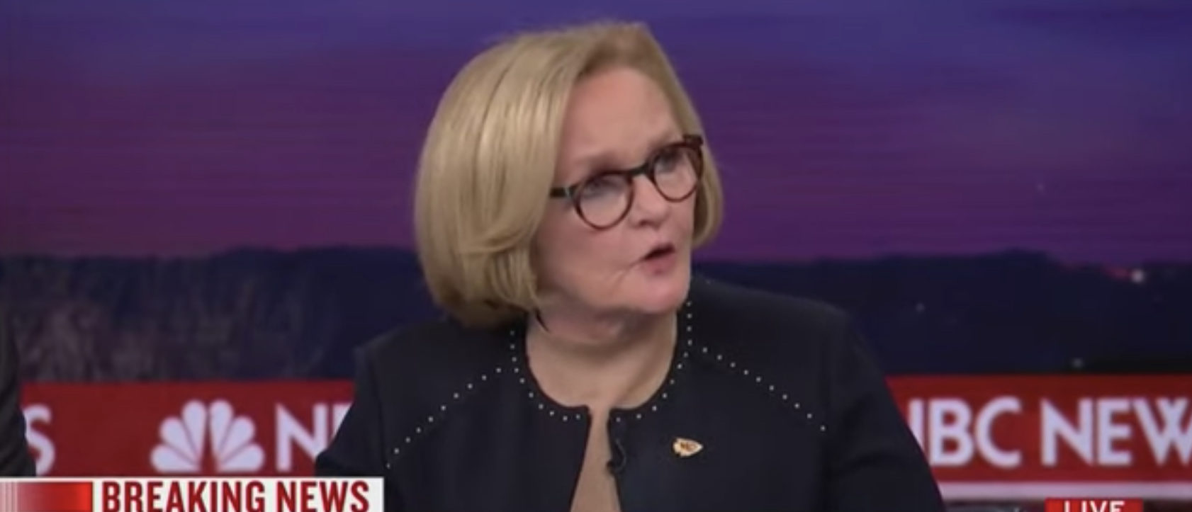 Putin 'Owns Donald Trump,' Says MSNBC Analyst Claire McCaskill