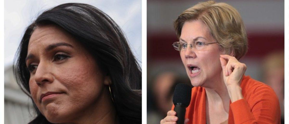 Tulsi Gabbard Shades Elizabeth Warren In Wake Of Her Claims About Bernie Sanders
