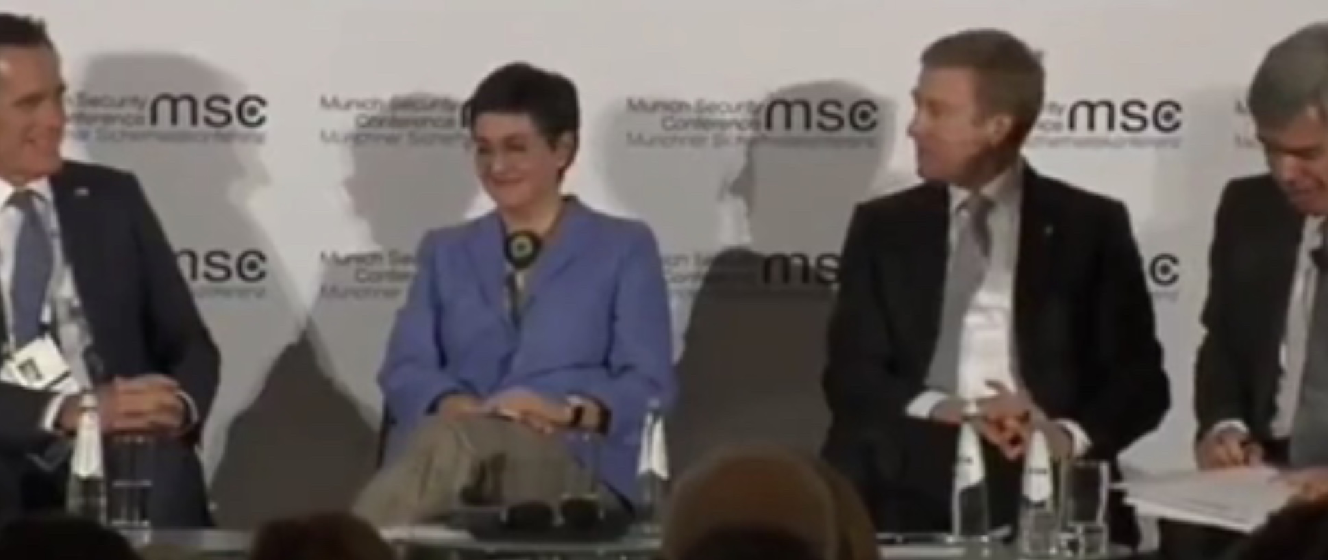 Romney Applauded After Panel Moderator Refers To Him As 'Probably The Most Courageous Lawmaker' In US