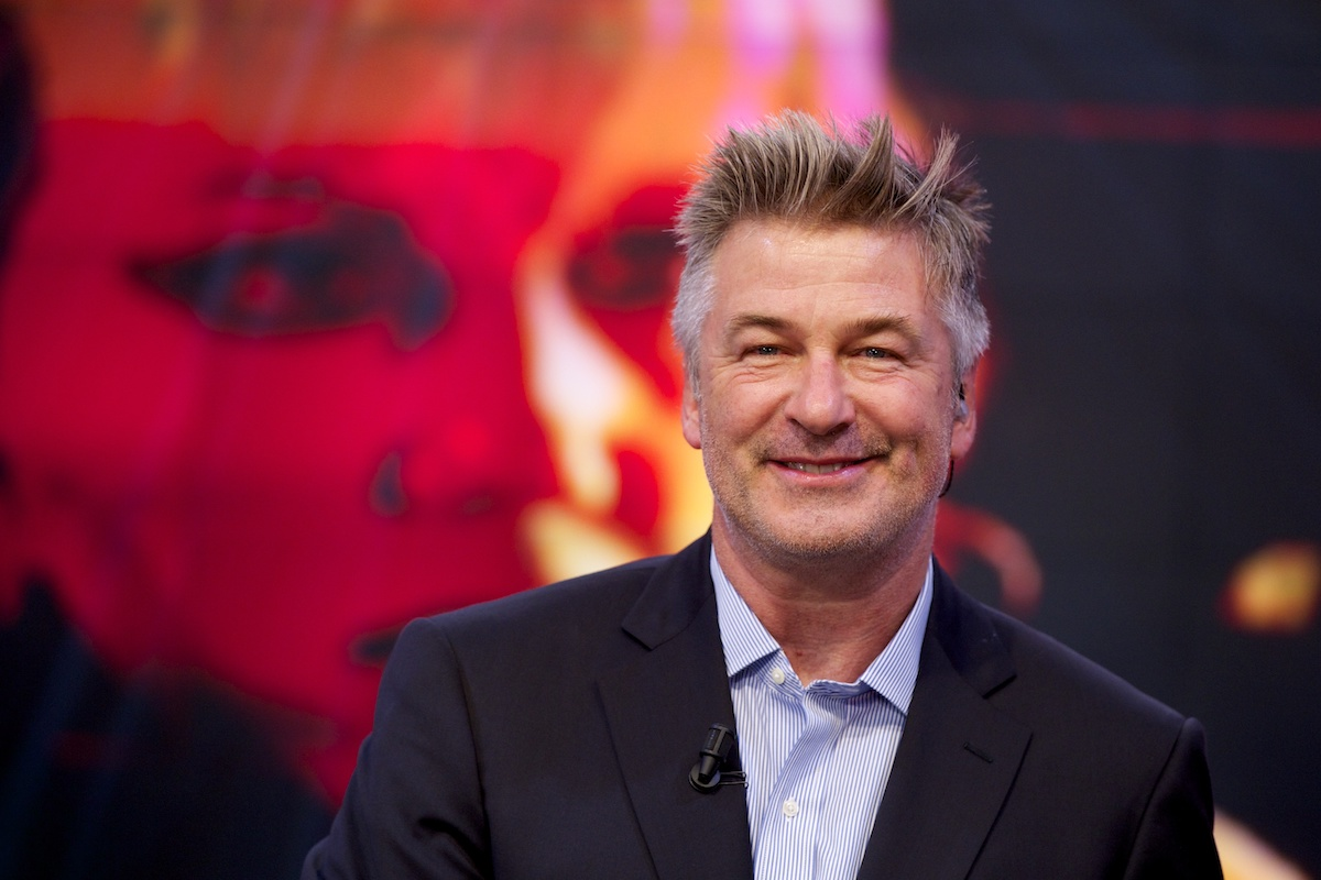 "Alec Baldwin attends ""El Hormiguero"" TV show at Vertice Studio on October 2, 2014 in Madrid, Spain. (Photo by Juan Naharro Gimenez/Getty Images)"