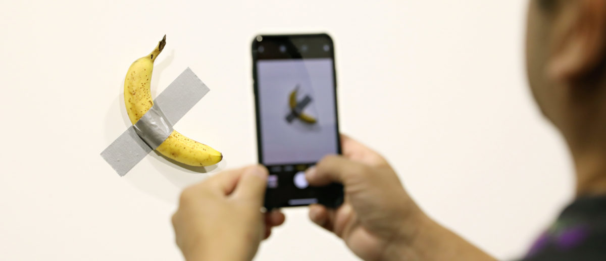 Performance Artist Who Ate The Infamous Banana At Art Basel Is Opening An Interactive Food Show
