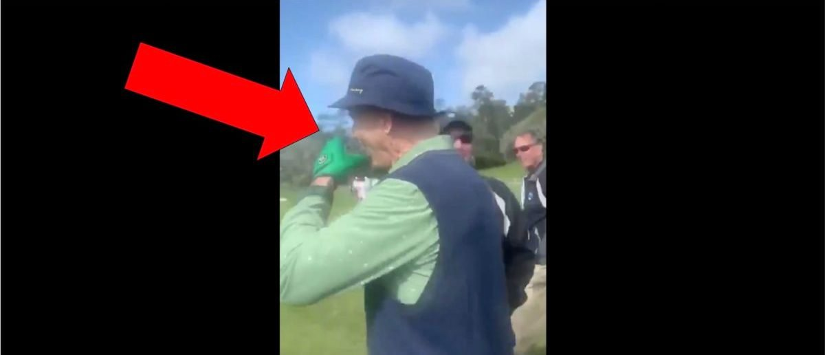 Bill Murray Rips Tequila Shot From Fan During Pebble Beach Pro-Am